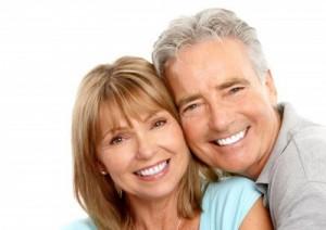 Patienten mit schönen Zähnen